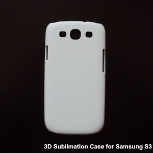 Sublimation Blank Smasung Galaxy  S3 3D fullwrap backing cases Vacuum Oven Print