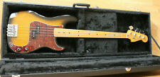 More details for fender precision bass - made in japan 2015/16 - with hard case - upgraded bridge