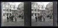 Italia Venezia c1930 Foto Negativo Placca Da Lente Vintage VR16L4n11