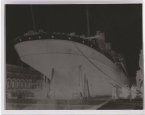 white star line rms olympic negative
