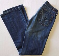 Citizens of Humanity Jeans Womens 24x32 Margo 085 Boot Cut Low Rise Stretch