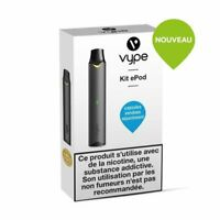 Cigarette élèctronique Vype ePod kit solo Device Graphite