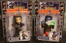 Set of 2 ~ X-men X2 Nightcrawler & Wolverine Twist'Ems Motorized Action Figures