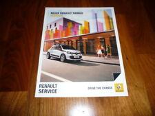 Renault Twingo Zubehör Prospekt 08/2014