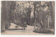 Baños de Archena paseos del parque España 1906 Postal US089