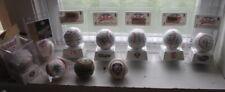 Qty 10 - Mlb Official Major League Baseballs Auto Ball Collectables