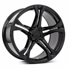 20x10/11 MRR M017 5x120 +23/43 Black Rims  Fits Camaro SS ZL1 Z28 1LE (2010-2016