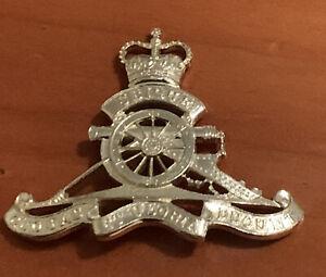 Royal Regiment of Australian Artillery staybrite Hat cap badge Swann Hudson