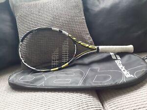 Babolat AeroPro Drive  Tennis Racket great condition , grip : 3 :4 3/8 . &  case