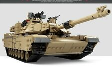 M1A2 Abrams MB Tank or Humvee c/w Army Figures Compatible Building Brick 1463pcs