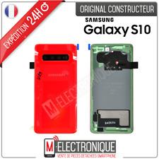 VITRE ARRIERE ROUGE ORIGINAL SAMSUNG GALAXY S10 SM-G973