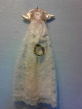 country decor lace angel wallhanging wall art