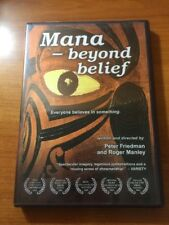 Mana Beyond Belief (DVD) Peter Friedman and Roger Manley...F