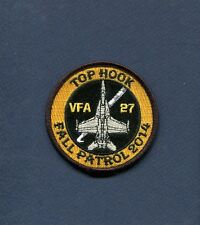 VFA-27 ROYAL MACES FALL PATROL 2014 F-18 HORNET US NAVY Squadron Cruise Patch
