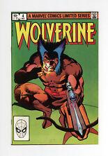 WOLVERINE #4  LIMITED SERIES - NM 9.4 - NM+ 9.6  - 1982