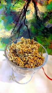 White Yarrow Flower tea Natural dried Wildflower against cough ,COSMETOLOGY
