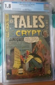 Tales From The Crypt #20 (#1) - EC Comics 1950 CGC 1.8 Universal Grade New Case