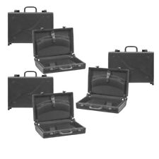 Set of 3 Black Briefcases for WWE TNA Wrestling Action Figures