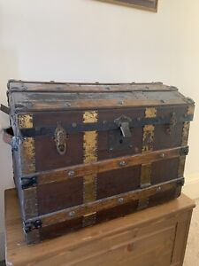Antique Dome Shipping Chest