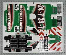 LEGO Technic 42008 - Abschlepptruck / Service Truck - AUFKLEBER / STICKER NEU