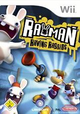 Rayman Raving Rabbids (Nintendo Wii, 2006, DVD-Box)