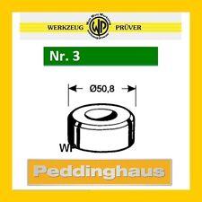PEDDINGHAUS Rundmatrize Nr.3 grün 3,2-16,2mm frei wählbar Rund-Matrize Stanze