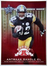 2002 Leaf Rookies & Stars ANTWAAN RANDLE EL Longevity #/50 RC SP Rare