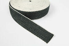 BLACK AND WHITE UPHOLSTERY  WEBBING 33 METERS  UPHOLSTERY SUPPLIES