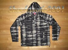 Supreme Tie Dye Pull Over Jacket L Large Black Acid Camo Box Logo Kaws Destroyer