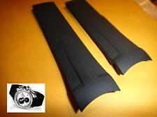 Tissot 22mm T-RACE BLACK Rubber silicon Band strap bracelet T018.617.17.031.00