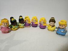 Bulk Lot x8 Fisher Price LITTLE PEOPLE Disney Princesses
