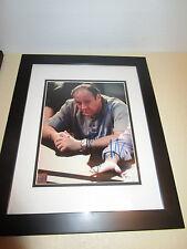 James Gandolfini Sopranos Signed & Framed 8x10 Online Authentics  8308180