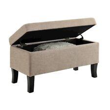 Convenience Concepts Designs4Comfort Winslow Storage Ottoman, Tan - 161322FT