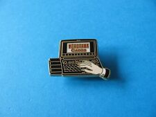 Canon Word Tank ( Electronic Dictionary) Pin Badge, VGC. Enamel. Arthus Bertrand