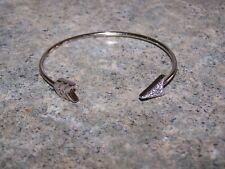 ORIGAMI OWL Silver Arrow With Swarovski Crystals Bangle Bracelet NEW