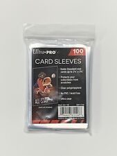 Ultra Pro Sleeves 100 Count Card Sleeves Standard Size Soft Penny