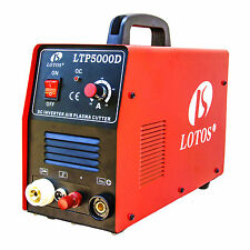 Metal Plasma Cutter 50 Amp Non-Touch Pilot Arc Inverter Dual Voltage Power Tool