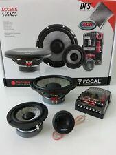 FOCAL ACCESS 165AS3 3-Wege System 16cm 165mm Auto KFZ Lautsprecher Speaker NEU