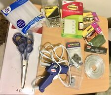 Arts Crafts Supplies DIY diorama Build Lot Glue Gun