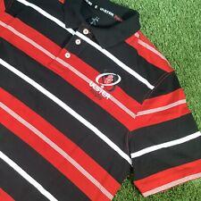 XXL Ulster Rugby Kukri Striped Polo Shirt Top - Belfast Northern Ireland