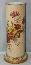 "Royal Worcester - Blush Ivory - 10"" Cylindrical Vase, Shape 2147 - 1902"