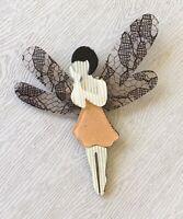 Adorable Fairy  Pin Brooch In acrylic
