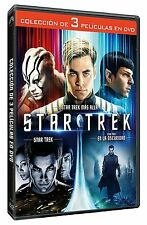 STAR TREK TRILOGÍA COMPLETA DVD EN LA OSCURIDAD MAS ALLA NUEVO ( SIN ABRIR ) 3