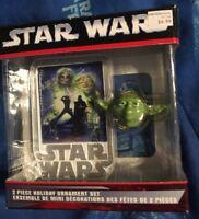 Kurt S. Adler 2006 Star Wars Yoda 2 Revenge of Sith Ornament Set (box 52)