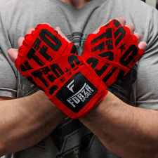 "Forza Sports 180"" Mexican Style Boxing and MMA Handwraps - KTFO Red"