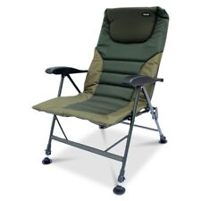 ABODE® Air-Lite™ Alloy Padded Easy-Arm™ Carp Fishing Camping Recliner Chair