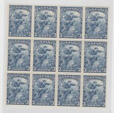 Canada- 208 Jacques Cartier 1934, block of 12  MNH