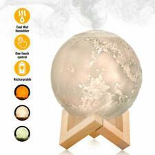 Air Humidifier Aroma Essential 880ml Oil Diffuser 3D Moon Lamp USB LED Light NEW