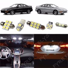 8x White LED interior lights package kit for 1994-2001 Acura Integra +Tool AG1W