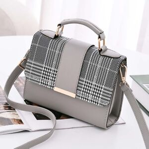 Fashion Women Leather Handbags Tote Purse Crossbody Messenger Satchel Sling Bag